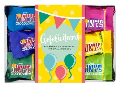 Tonys-Chocolonely-Mini-Mix-Gefeliciteerd