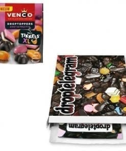 Venco Droptoppers Zoet en Fruitig